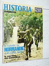 HISTORIA 2ème GUERRE MONDIALE 39-45 BATAILLE NORMANDIE CAEN CANADA MONTY ST-LÔ