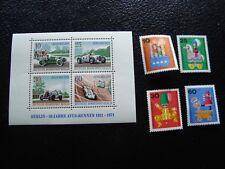 ALLEMAGNE (berlin) - timbre yvert/tellier n° 374 a 377 bloc 3 n** MNH (AL1)