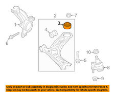 VW VOLKSWAGEN OEM Front Suspension-Lower Control Arm Rear Bushing 5C0407183A