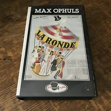 MAX OPHULS' - LA RONDE (1950) VHS french cinema CLASSIC FOREIGN FILM must have