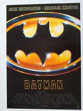 BATMAN(1989) Michael Keaton, Tim Burton - Original Filmplakat DIN A1 (gerollt)