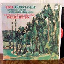 Bernard Haitink Ravel Bolero La Valse LP Philips Stereo Holland EX