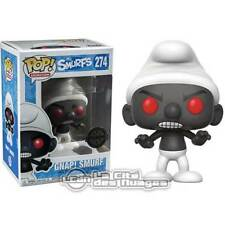 The Smurfs Pop! Black Smurf Vynil Figure 10cm n°274 FUNKO
