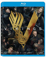 VIKINGS Stagione 5 - VOLUME 1 (3 BLU-RAY) SERIE TV WARNER BROS