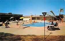 Mesa Arizona~Holiday Village~Mobile Home Resort~Gal on Diving Board~1960s PC