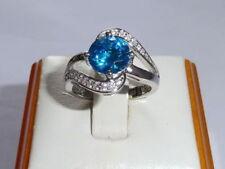 Handmade Topaz Anniversary Fine Rings