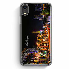 Panorama Las Vegas iPhone XR Hülle Cover Skyline Silhouette USA Hard Case Han...
