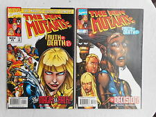 THE NEW MUTANTS: TRUTH OR DEATH N° 1 ET 3 VO EXCELLENT ETAT / NEAR MINT