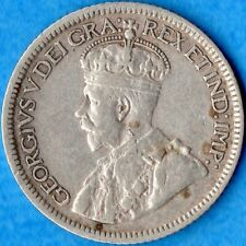 Canada 1934 10 Cents Ten Cent Silver Coin - Very Fine