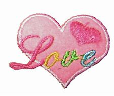 Love Iron on Embroidered Sew Patch Badge Patches Crafts Lots of designs  #149