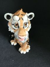 """More details for little paws critters """"cassie the tiger"""" arora designs wild cat animal figurine"""