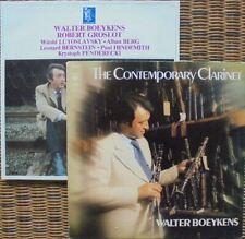 WALTER BOEYKENS - CONTEMPORARY CLARINET MUSIC: 2X LP NM