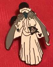Disney Haunted Mansion GHOST BRIDE Lanyard Hidden Mickey Mystery Pouch Pin