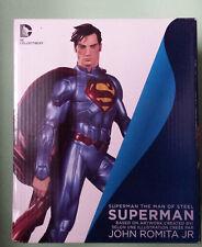 DC Collectibles:The Man of Steel: Superman by John Romita Jr. Statue NIB Sealed