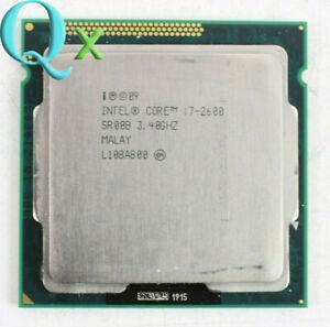 Intel Core i7-2600 CPU Processors 3.4GHz Quad Core 8MB LGA1155 SR00B