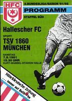 II. BL 91/92 Hallescher FC - TSV 1860 München, 07.09.1991