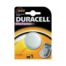 ★1 BATTERIA A BOTTONE DURACELL CR1620 LITIO 3 V PILE CR 1620 DL1620 ECR1620★