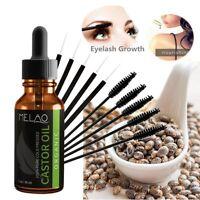 30ml Pure Organic Castor Oil Eyelash/Eyebrow Enhancer Growth Serum 100% Natural