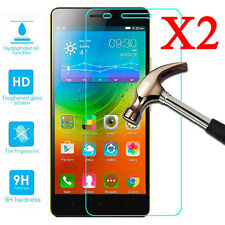 2x 9H Premium Tempered Glass Film Screen Protector Cover For Lenovo Cell Phone A