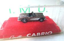Corvette Cabrio   1:160 Spur N  OVP/Box IMU Metall  .  #3577
