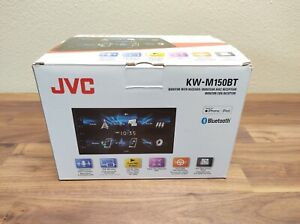 "JVC KW-M150BT 2-DIN 6.8"" Digital Media Receiver, Bluetooth, 13-Band, USB Mirror"