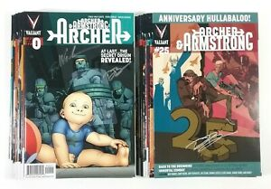 Archer & Armstrong #0 #1-#25 w/ Variants No Breaks Complete All Signed Valiant
