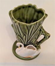 SylvaC Ware Swan Vase Vintage Riverside Small Jug  Posy Bulrushes 4385 England