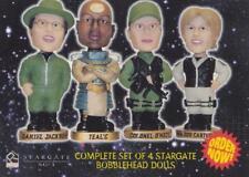 2002 Stargate Bobblehead Dolls trading card promo