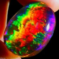 100%Natural Welo Fire Ethiopian Opal Oval Cabochon Quality Loose Gemstones GS-84