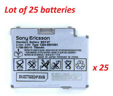 Lot of 25 New OEM Orig. Sony Ericsson Battery BST-27 for Z600 Z608 S710a S700i