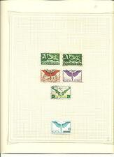 Suiza. Colección de sellos de Correo Aereo. Taxa, Hojas Bloques