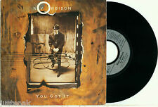 """ROY ORBISON """"You Got it / the Only One"""" 1989 GERMAN PS 7""""/45"""