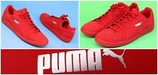 Puma Classic Men's Sz 13 All Red Suede Lace Up Sneakers Shoes