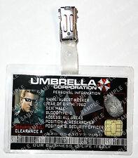 Resident Evil - Albert Wesker Umbrella Zombie Cosplay Prop Comic Con Christmas