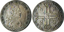 LOUIS  XV   PETIT  LOUIS  D'ARGENT  DE  3  LIVRES  ARGENT   1720  N  MONTPELLIER