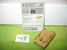"Axis & Allies 1939-1945 Sturmpanzer IV ""Brummbar"" with card 49/60"
