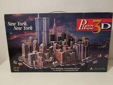 Used Wrebbit Puzz 3D New York, New York 3141Pc. 3D Puzzle