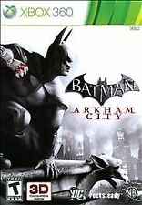 XBOX 360 BATMAN ARKHAM CITY , *Sealed*