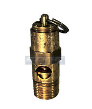 160 Psi Brass Safety Pressure Relief Pop Off Valve, Air Tank, Compressor, 1/4""