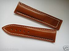 21mm x 18mm Genuine Leather Band Strap bracelet (FITS) OMEGA Seamaster 300 watch