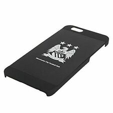 INTORO Manchester City FC Aluminium Football Case for Apple iPhone 6 6s - Black
