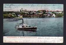 115368 AK Meersburg Bodensee Seeseite Schiff 1906
