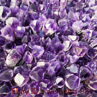 top!Natural Bahia Amethyst Quartz Crystal Wand Point Specimen Reiki Healing 1KG+