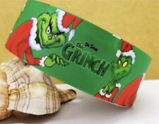 1 Inch Grinch Christmas Grosgrain Ribbon - G1399