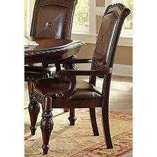 Steve Silver AY600A Company Antoinette Arm Chairs- Set of 2 NEW