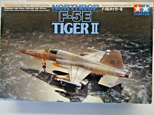 Tamiya 1:72 Scale Northrop F-5E Tiger ll Model Kit - New - Kit # 60732**900