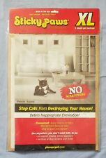 Sticky Paws Xl 5 Sheets Stop Cats Destroying Furniture Anti Scratch Cat Training