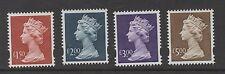 Y1800-Y1803. Set x 4 Ehigh value Machins. Scarce Enschede printing. Superb MNH.