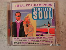 22 track southern soul rhythm & blues classic hits music cd.