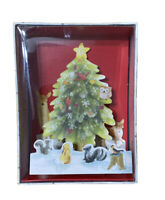 Hallmark Forrest Animals Pop Up Christmas Holiday Greeting Cards 8 Cards
